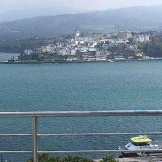 Vistas desde Ribadeo a Castropol