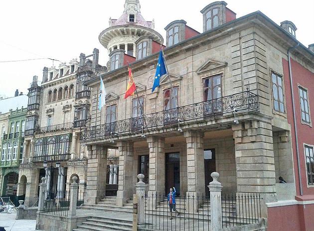 Ribadeo City Hall.