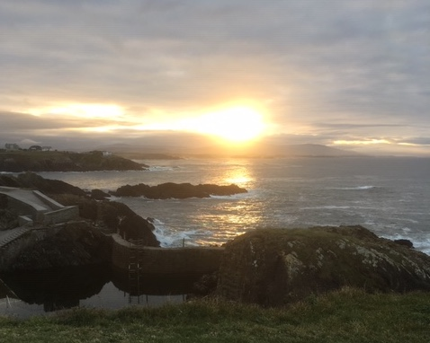 Sunset Tapia Casariego
