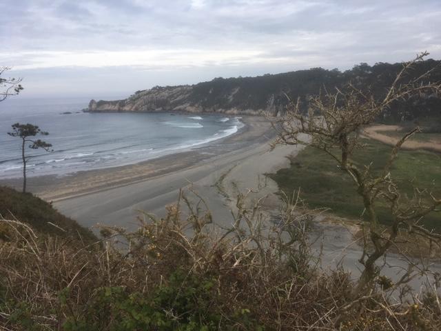 Playa_ de_Barayo_ en Navia, final de nuestra ruta por Luarca Cadavedo